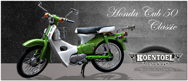 modifikasi motor honda c 70  tahun ini